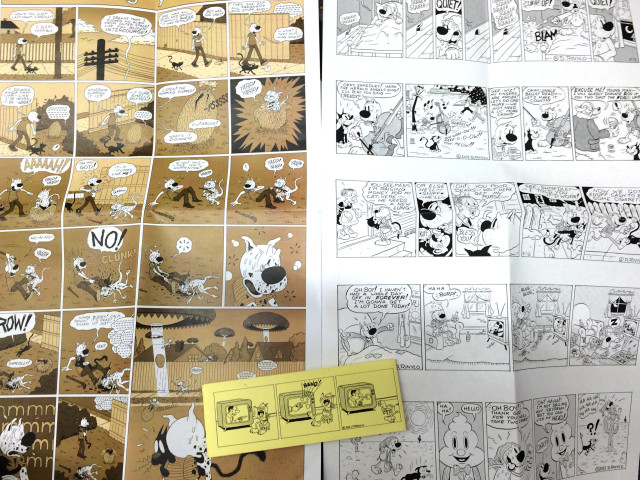 big comic pages!